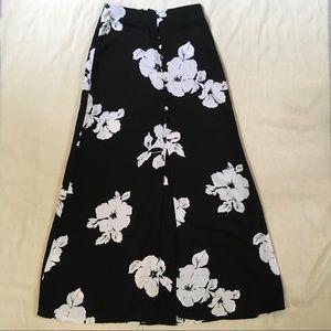Vintage Joule's 90s Floral High Waist A-Line Skirt